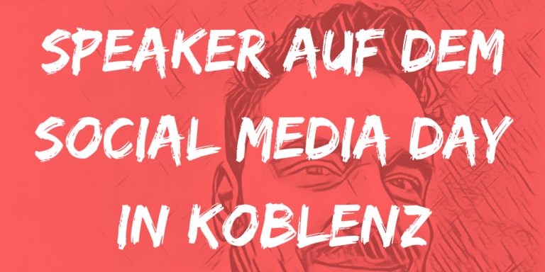 Speaker auf dem Social Media Day in Koblenz