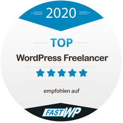 TOP WordPress Dienstleister 2020