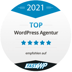 TOP WordPress Dienstleister 2021